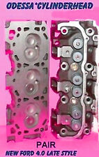 NEW 2 FORD MAZDA RANGER BRONCO Explorer 4.0 OHV LATE CYLINDER HEADS 1997-2006