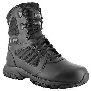 HI-TEC - Magnum Lynx 8.0 Black Schuhe Herren Boots Ranger Security Polizei Paint