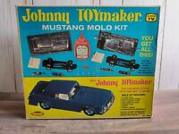 Topper Toys Johnny Toymaker Ford Mustang Mold Kit Accessory 1960's Model Car