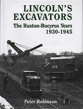 Escavatori Book: Lincoln's escavatori il ruston-bucyrus anni 1930-1945 VOLUME 2