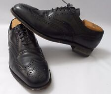 Mens Florsheim Lexington Wingtip Oxford Black Leather 17066 Size 10
