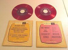RCA VICTOR BELOVED HYMNS & AVE MARIA RECORD LOT