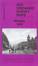 OLD ORDNANCE SURVEY MAP MOSELEY 1903