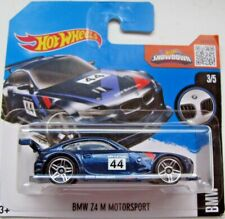 Hot Wheels BMW Z4 M Motorsport - blue