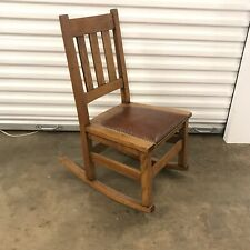 Stickley Bros.Mission Arts And Crafts Sewing Rocker
