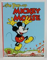 Disney The POP-UP MICKEY MOUSE Book, Applewood 1993 1st reprint of 1933 original