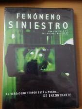 GRAVE ENCOUNTERS DVD REGION 1&4 (ENGLISH) FENOMENO SINIESTRO VICIOUS BROTHERS