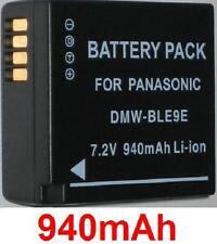Batería 940mAh tipo DMW-BLE9 DMW-BLE9E BLE9PP Para Panasonic Lumix DMC-GF3K
