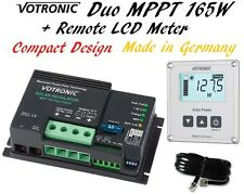 Dual Duo MPPT Solar Regulator Charge Controller LCD Remote Meter LiFePo4 Lithium