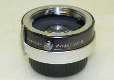 VIVITAR Auto 2X Custom TELE-CONVERTER Model 2X-5 for (Konica) Minolta MC Mount