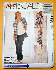 New! McCall's Women's/Misses' Dress, Top, Jacket, Pants, Shorts  Sz 20,22,24