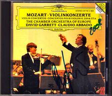 David GARRETT Signiert MOZART Violin Concerto 4 7 ABBADO CD Violinkonzerte NEU