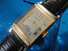 Exquisite Vintage1949 Mans Hamilton*Franklin* Hand Winding 2 Tone Dial SERVICED!