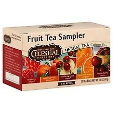 Herbal Celestial Seasonings Fruit Tea Sampler 18 Count