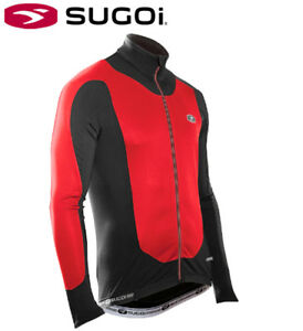Sugoi RS Zero Thermal Cycling Jersey - Red - Mens Size Small