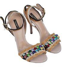 Slides Slim Textile Sandals for Women