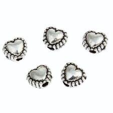 Tibetan Silver Metal 6 - 6.9 mm Size Jewellery Beads