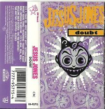 "Doubt - Jesus Jones (Cassette, Jul-1991, SBK Reords) ""Right Here, Right Now"""