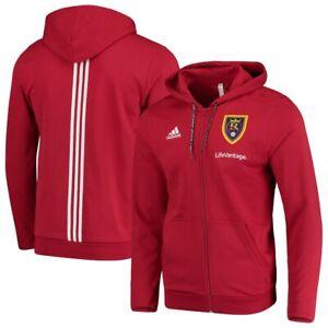 Adidas MLS Real Salt Lake Travel Jacket Red/White