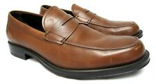 Tod's men's size 8.5 brown leather loafers shoes