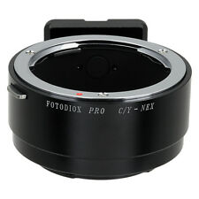 Fotodiox Pro Lens Adapter Contax/Yashica (CY) Lens to Sony E-Mount/NEX
