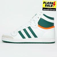 Adidas Originals Top Ten Hi Mens Casual Court Basketball Trainers White