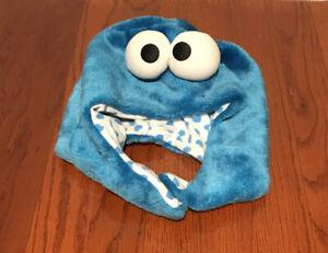 Cookie Monster Fleece Cap Kigurumi SAZAC Cosplay Costume Sesame Street- Japan