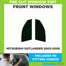 Pre Cut Window Tint - Mitsubishi Outlander 2003-2006 - Front Windows