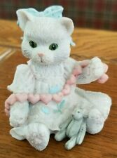 "Enesco Calico Kittens ""A Good Friend Warms the Heart"" collectible"