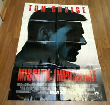 MISSION: IMPOSSIBLE (1996) MOVIE POSTER 27 x 40 inches Folded, Double Sided