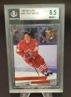 1993-94 Fleer Ultra #465 Paul Kariya Team Canada Graded BGS 8.5