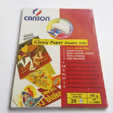 Canson Color Inkjet Glossy Paper Double Side 20 Sheets