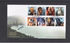 Star Wars Handstamped Great Britain Stamps