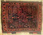 """Antique Tribal Saddle Bag Rug, 22"""" by 27"""""""