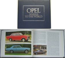 Opel Wheels to the World Torpedo Rak Kadett Senator Monza GT Manta Ascona Pub 79