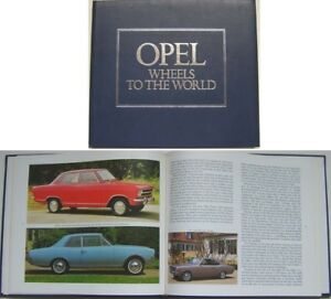 Opel Wheels to the World Torpedo Rak Kadett Senator Monza GT Manta Ascona Pub 79
