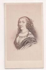 Vintage CDV Anne Marie d'Orléans, Duchess of Montpensier  E. Desmaisons Photo