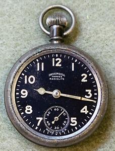 Ingersoll Pocket Watch Yankee Radiolite 1926