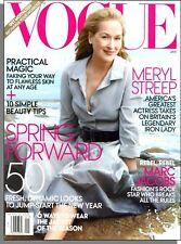 Vogue - 2012, January - Meryl Streep, Marc Jacobs, Fresh Dynamic New Looks