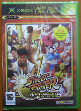 Pal version Microsoft Xbox Street Fighter Anniversary