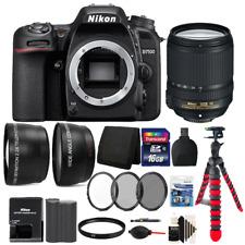 Nikon D7500 20.9MP DX-Format CMOS Digital Camera + 18-140mm Lens + Filter Bundle