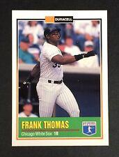 Oddball Frank Thomas 1993 Duracell Baseball Card Chicago White Sox *5