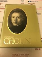 Time Life Great Men Of Music Cassettes Frederic Chopin Set of 4 SEALED