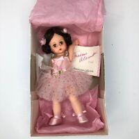 "Madame Alexander BALLERINA Doll 8"" Pink Brunette 100331 Tagged Mint in Box"