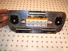 Jaguar XJ6 73 Series 1,AC / Heater climate control Central metal SILVER 1 Panel