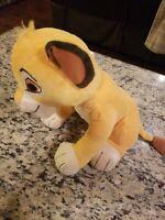"""Kohls Cares for Kids Disney The Lion King Simba Cub 12"""" Stuffed Plush FREE S/H"""