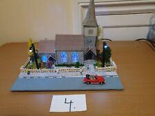 Modelrailway diorama COUNTRY  CHURCH