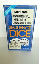 Sequence Dice Board Game Complete and Excellent Strategy Game ages 7+ USA Seller