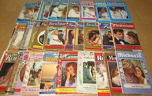 30 Romanhefte gemischt, je 10x Adelsromane, Liebesschicksale, Arztserien - bk868