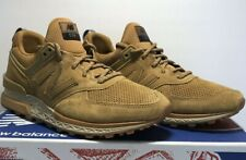New Balance Mens Size 8 574 Wheat Tan Brown Gum Fresh Foam Running Shoes MS574CB